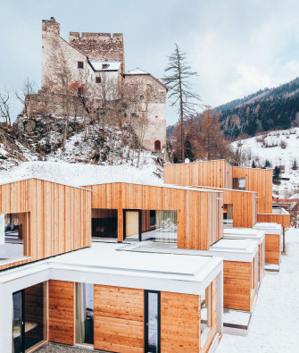 Three Modern Lodges for Wintry Alpine Holidays
