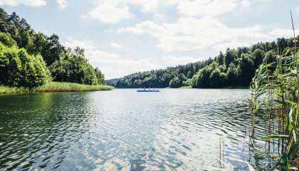 Ausflug zum Gamensee – Bergseepanorama bei Berlin